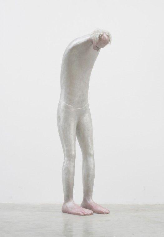 Henk Visch / the artist asleep, 2011