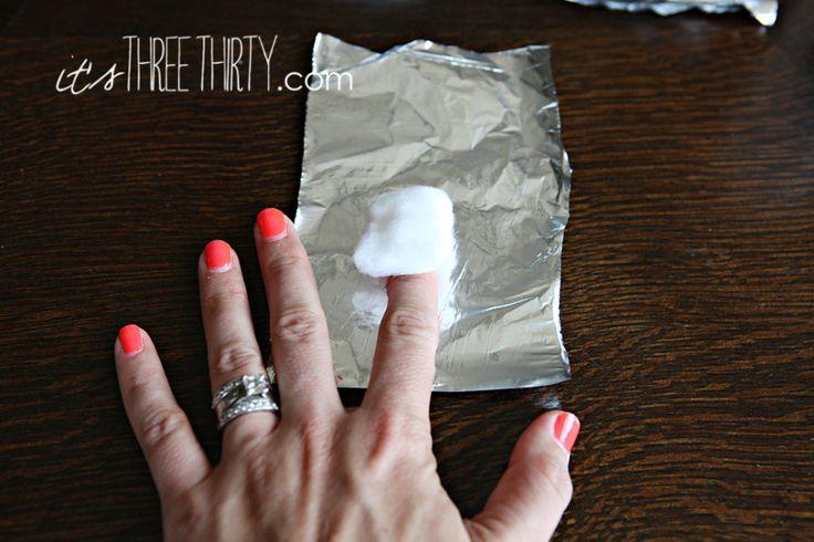 how to get rid of shellac nail polish