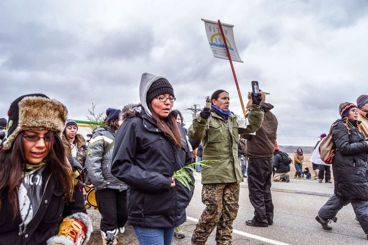 My personal thanks to every person who was able and did take a stand and travel to Standing Rock in support of the Water Protectors.    Special thanks go out to the many U.S. Veterans who stood up and showed up to be a shield for these brave people....