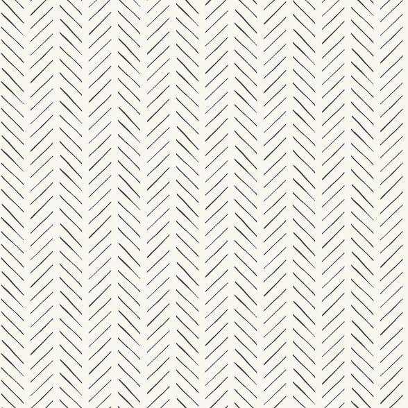 Roommates Pick Up Sticks Magnolia Home Wallpaper Cream Peel And Stick Wallpaper Herringbone Wallpaper Farmhouse Wallpaper