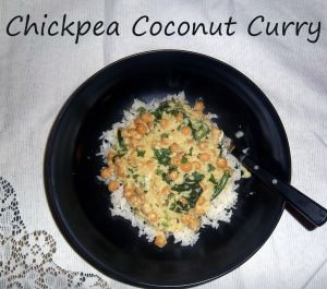Chickpea Coconut Curry @ Gluten Free Fabulous