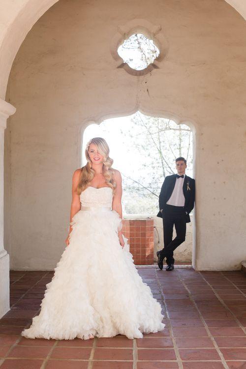 Wedding hair inspiration, San Diego Wedding, the Mission San Diego, glamour wedding editorial, wedding photography, couples photography, Kelly Cardenas Salon, All Days Wonder Photography