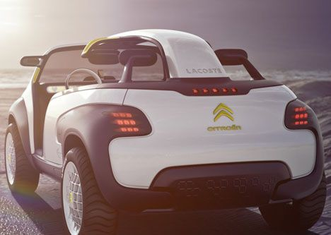 Two Names, CITROËN And LACOSTE, Have Come Together With A Shared Vision To  Cultivateboldness, Creativity And Optimism. The Result Of These Common  Values Is ...