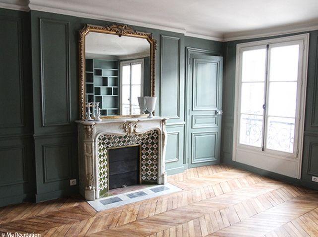 les 25 meilleures id es concernant boiseries de peinture sur pinterest peindre des panneaux en. Black Bedroom Furniture Sets. Home Design Ideas