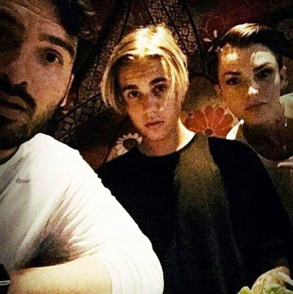 Justin Bieber hung out with OITNB star, Ruby Rose, and revealed a new hair cut - possibly inspired by friend Cody Simpson! What do you think of his new hairstyle?