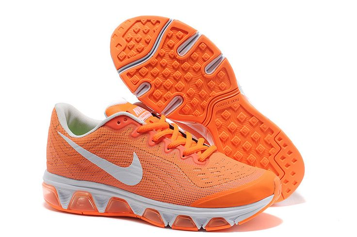 Nike Air Max Tailwind 6 für Damen Weiß Orange