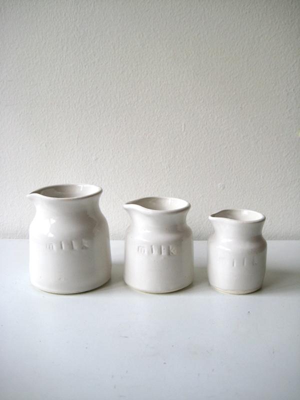 Jia Wen milk jars.: My Cousin
