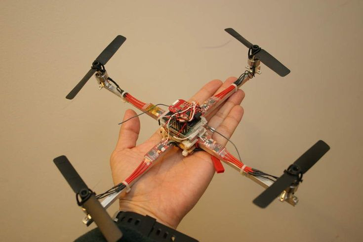 Building a palm size quad-copter & Introducing a new simple flight controller - RC Groups