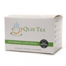 Quit Tea the Natural Stop Smoking Aid  http://store.quitsmoking.com/quit-tea.html