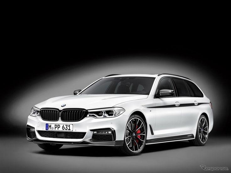 【ジュネーブモーターショー2017】BMW 5シリーズツーリング 新型の Mパフォーマンス を公開
