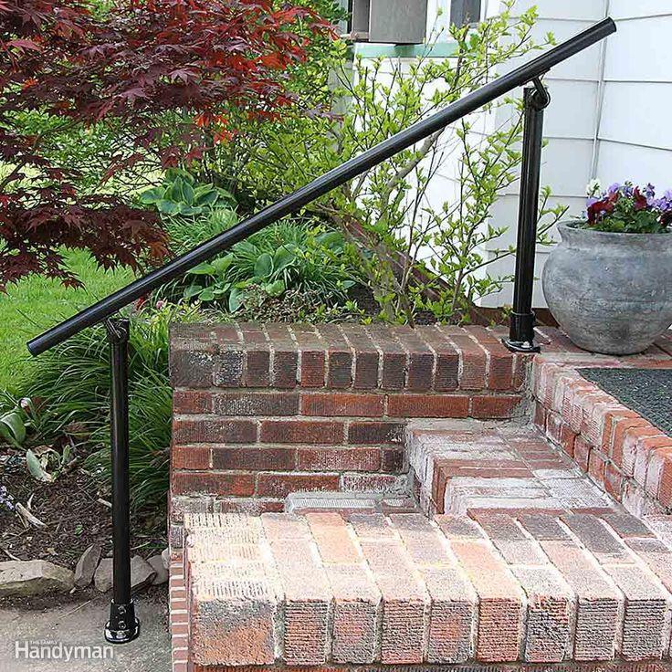 Make A Home Safe For Older Folks Outdoor Stair Railing