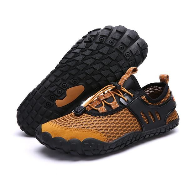 Large Size Mesh Slip Resistant Outdoor Hiking Wading Water Shoes