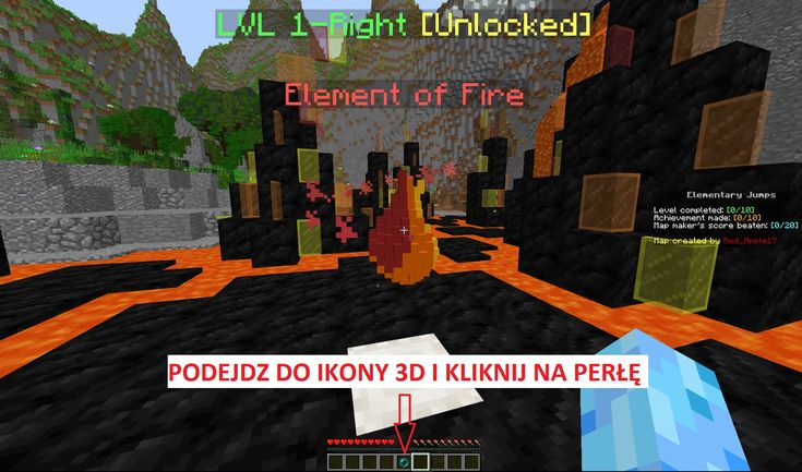 elementary jumps red apple mapa parkour start