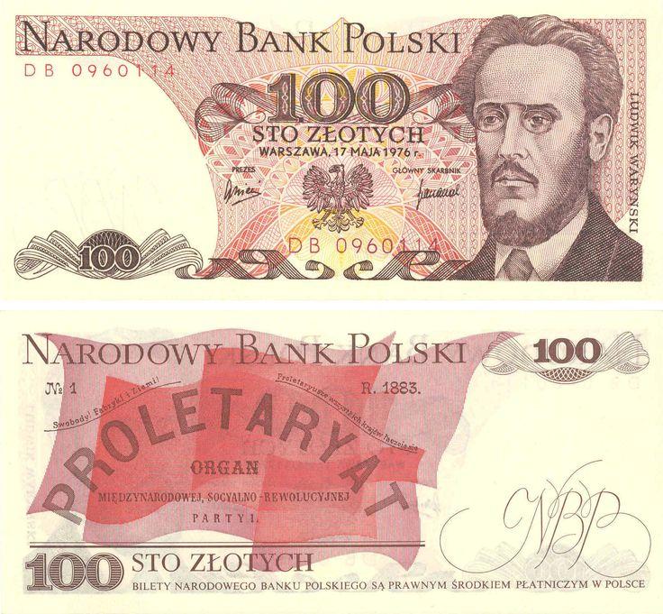 100 złotych, Polska