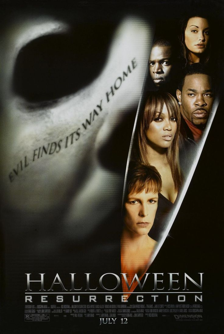 halloween resurrection of all the halloween movies with jamie lee curtisthe only ones i consider to be apart of the franchise this is the worst of them - G Halloween Movies