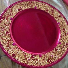 Mehndi Plate by Farzana @Anna Totten Halliwell Boyd Fontaine collection