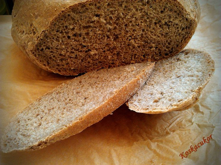 Koskacukor: Teljes kiőrlésű tönköly kenyér