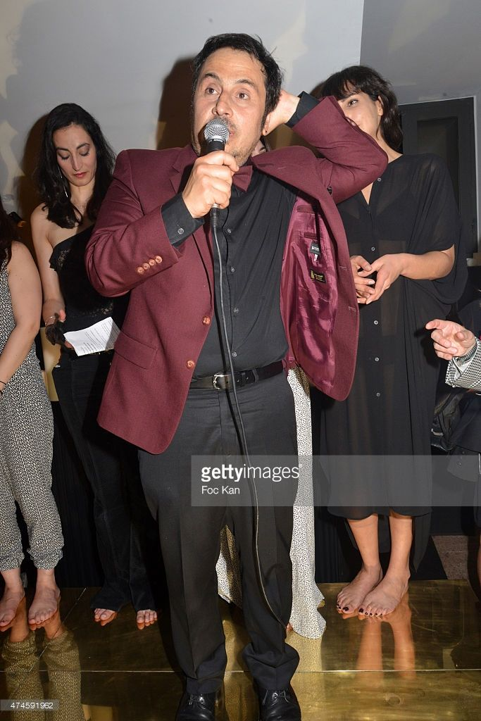 'The Attack of the Giant Moussaka' film director Panos Koutras attends the Queer Palm 2015 Ceremony at the Silencio - The 68th Annual…