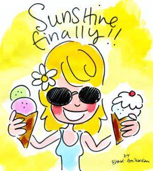 Sunshine Finally!