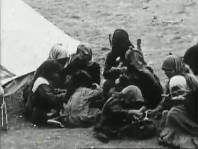 Authentic video by YMCA of the Smyrna destruction and the Smyrniot refugees of 1922