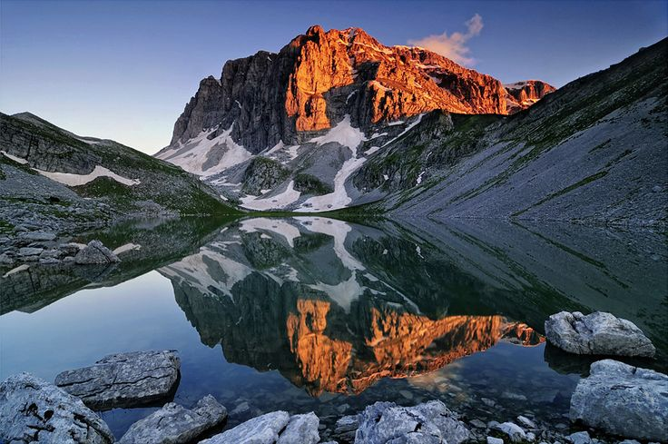 GREECE CHANNEL   Drakolimni Gamila -Dragon Lakes are the alpine lakes located on the mountains of Epirus and were created 10000 years ago due to the melting of the glaciers.