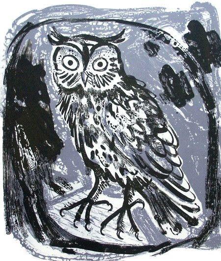 Mark Hearld's Owl