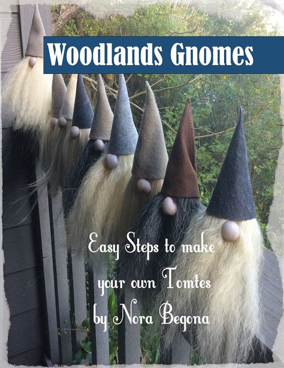 Scandinavian Gnome Pattern Digital DownLoad Tutorial