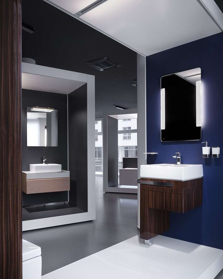 aquamart sanitary showroom by fl architects budapest store design - Bathroom Design Store