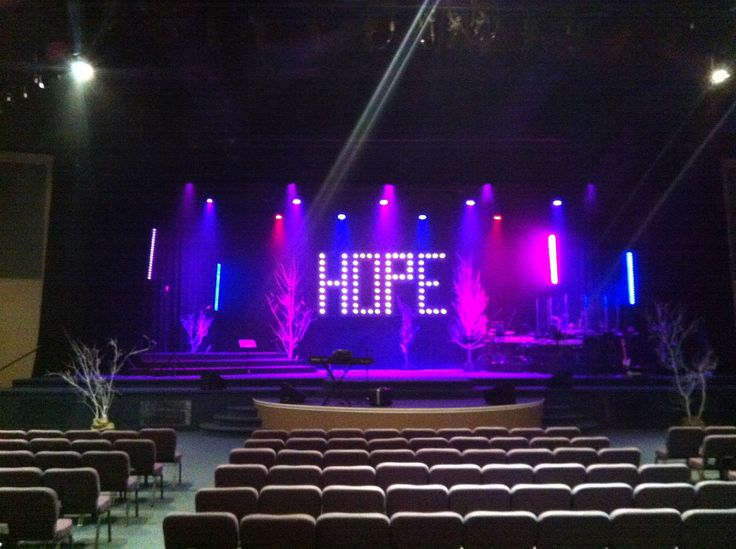 Hope Floats | Church Stage Design Ideas