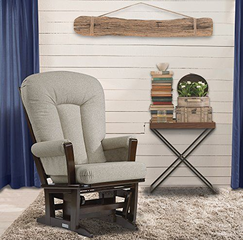 Perfect for relaxing with baby, watching TV or reading, this Modern framed glider offers an exceptionally smooth and extra-long gliding motion with thick cushions and padded arms. This durable glider with a luxurious wood frame and soft to the touch cashmere-like fabric is designed to last... more details available at https://furniture.bestselleroutlets.com/game-recreation-room-furniture/gliders/product-review-for-dutailier-modern-glider-coffeeharvest-beige/