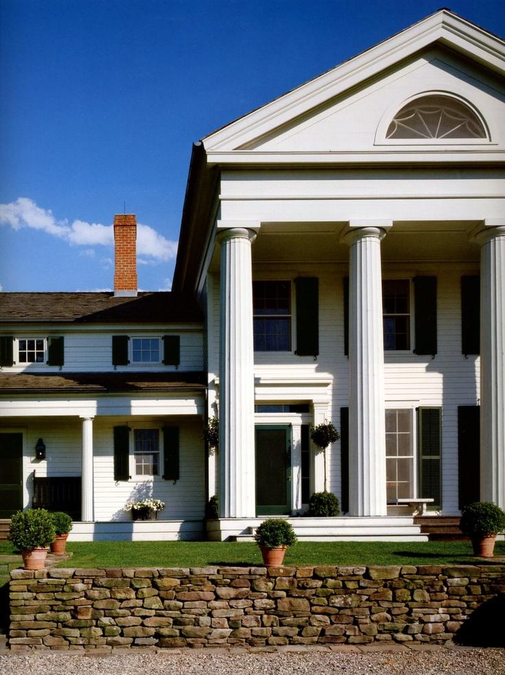 architect gil schafer 39 s greek revival country house. Black Bedroom Furniture Sets. Home Design Ideas
