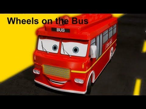 Muffin Songs - Wheels On The Bus | nursery rhymes & children songs with lyrics