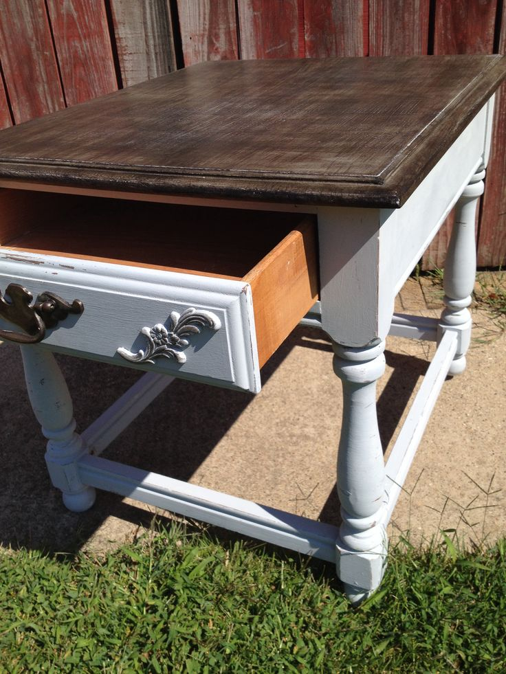 Roughed Up End Table