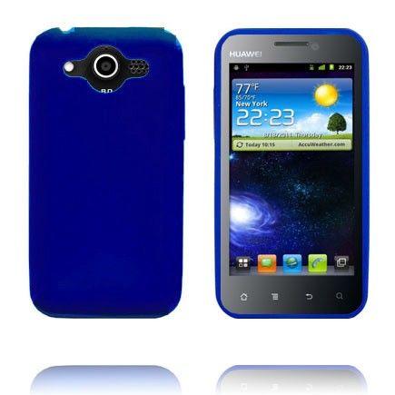 Soft Shell (Blå) Huawei Honor Cover