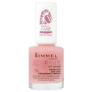 Rimmel London Stronger Base And Top Coat: Strengthens & Protects
