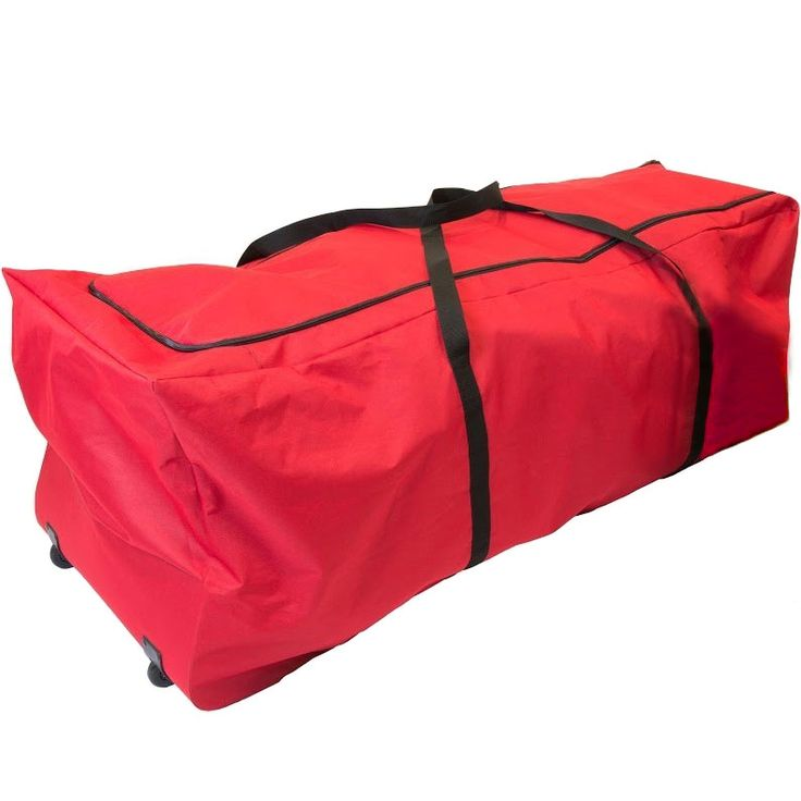 The Christmas Tree Storage Bag with Wheels gives you a simple and effective way to store your holiday tree during the off season.