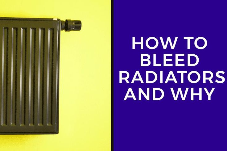 An explanation of how to bleed radiators and why it's important. This article details the effects of trapped air on your central heating and the benefits of bleeding. A guide to bleeding your radiators that is simple and easy to follow.