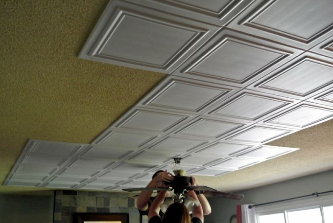 The Low Budget Way To Makeover A Popcorn Ceiling Popcorn