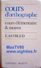 Le bled est donc un petit livre blanc composé d'un festival de petits exercices à trous écrits en format miniature ..