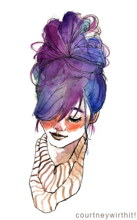 My dearest Katrina, by all means dye that hair purple, but please grow it out uber long for me JUST ONCE. kthanx. Burr