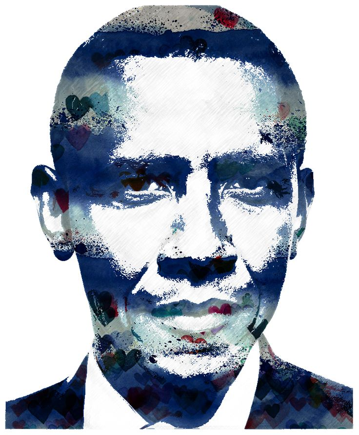 H. B. Obama illustration by ümit gr