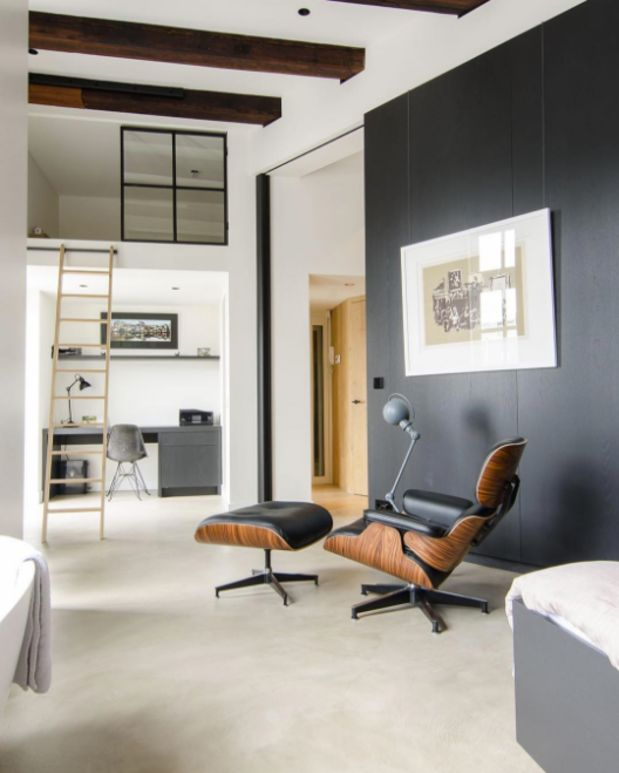 28 Dreamy Home Offices With Libraries For Creative Inspiration: Random Inspiration 242
