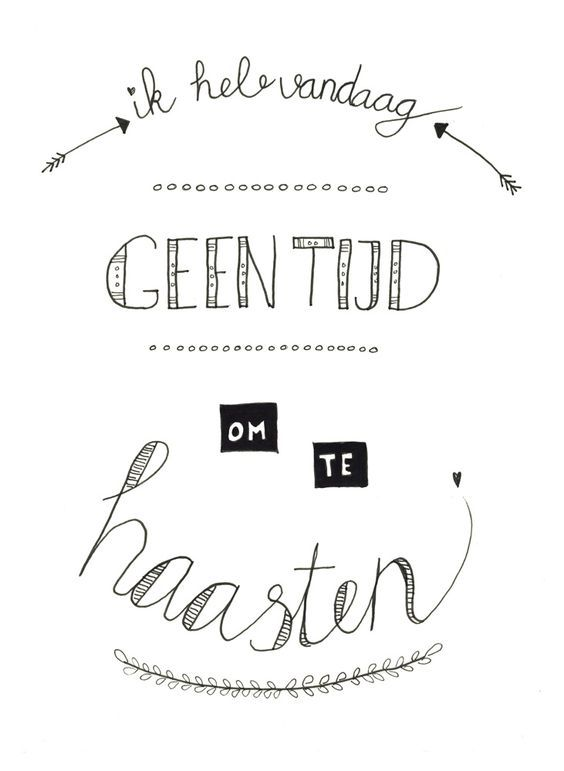 Gemaakt tijdens de workshop Handletteren Basis bij Sterrig.: