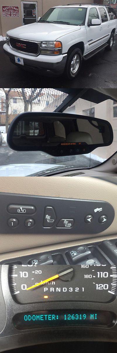 SUVs: 2006 Gmc Yukon Slt 2006 Gmc Yukon Xl Automatic 126319 Miles Suv Summit White 5.3L Vortec 5300 V8 Sf BUY IT NOW ONLY: $8850.0