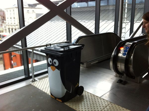 "Sticker ""Pingouin"""