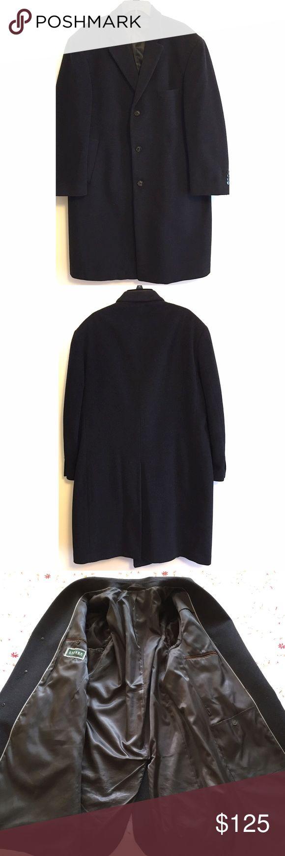 🔻LOWEST Ralph Lauren men's overcoat Wool and cashmere blend men's overcoat. Size 44 Short. Excellent condition. Shell: 90% wool, 10% cashmere. Lining: 100% polyester. Dry clean only. Lauren Ralph Lauren Jackets & Coats Pea Coats