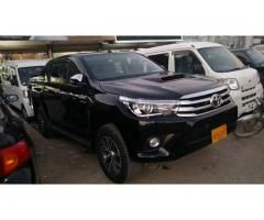 Toyota Revo 2017 ( new engine ) for sale in good amount