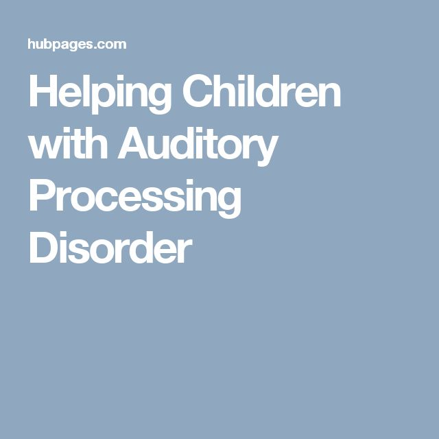 supporting a child with auditory processing 2018/1/29 auditory processing disorder (apd) means that the brain has difficulty making sense of the sounds that it hears the child has a normal ability to hear sounds, but has difficulty understanding what the sounds mean apd is thought to affect approximately 5% of school age children one of the.