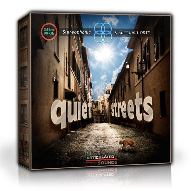 Quiet Streets Sound Effects library: http://www.asoundeffect.com/sound-library/quiet-streets/