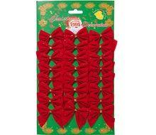 Χριστουγεννιάτικοι Φιόγκοι 5.5 εκ - 24 τμχ.